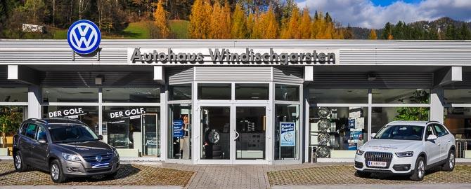 Homepage des Autohaus Polz in Windischgarsten mit den Marken VW, Audi und Gebrauchtwagen. Ein Unternehmen der Porsche Austria Gruppe.